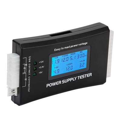 JacobsParts 20+4 Pin LCD Power Supply Tester for ATX, ITX, BTX, PCI-E, SATA, HDD