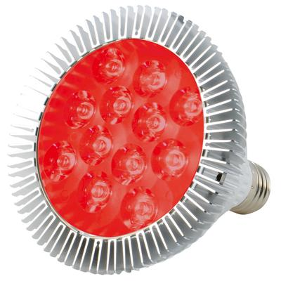 ABI 12W Deep Red 660nm LED Bloom Booster Grow Light Bulb for Flowering and Spectrum Enhancement