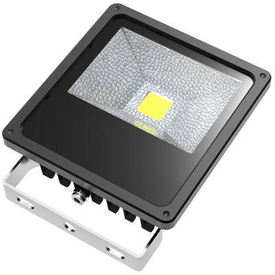 ABI 50W Low Voltage DC LED Flood Light Waterproof Landscape Security Lamp 5000lm 12V/24V with 10ft Cord (6000K Daylight White)