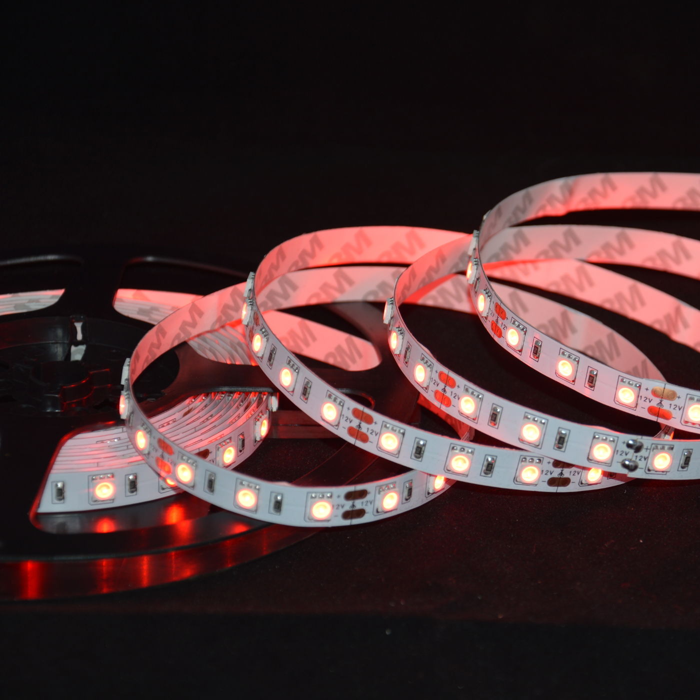 High Brightness SMD 5050 ABI 300 LED Strip Light 5M 12V Red